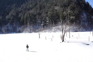 自然湖 氷さんぽ New!